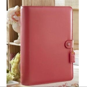 A5 Pink Binder Planner